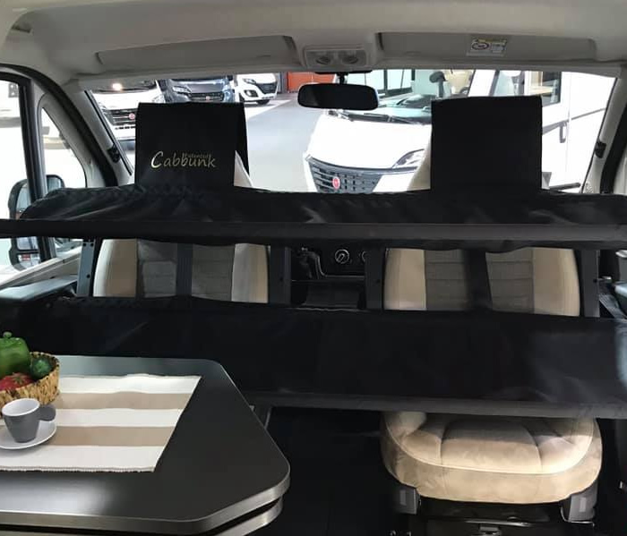 Patented Cabbunk Bottom Bunk